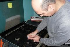 floor standing cooker service