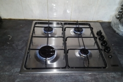 new gas hob fitting